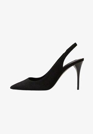 High heels - svart
