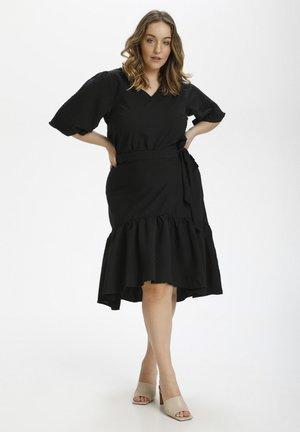 Wrap skirt - black deep