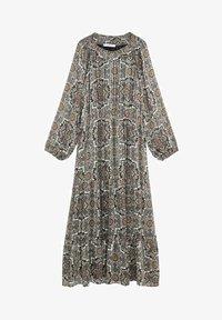 Violeta by Mango - BENGALA - Maxi dress - gris - 4