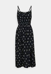 Hollister Co. - MIDI DRESS - Day dress - black - 0