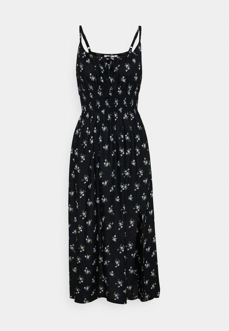 Hollister Co. - MIDI DRESS - Day dress - black