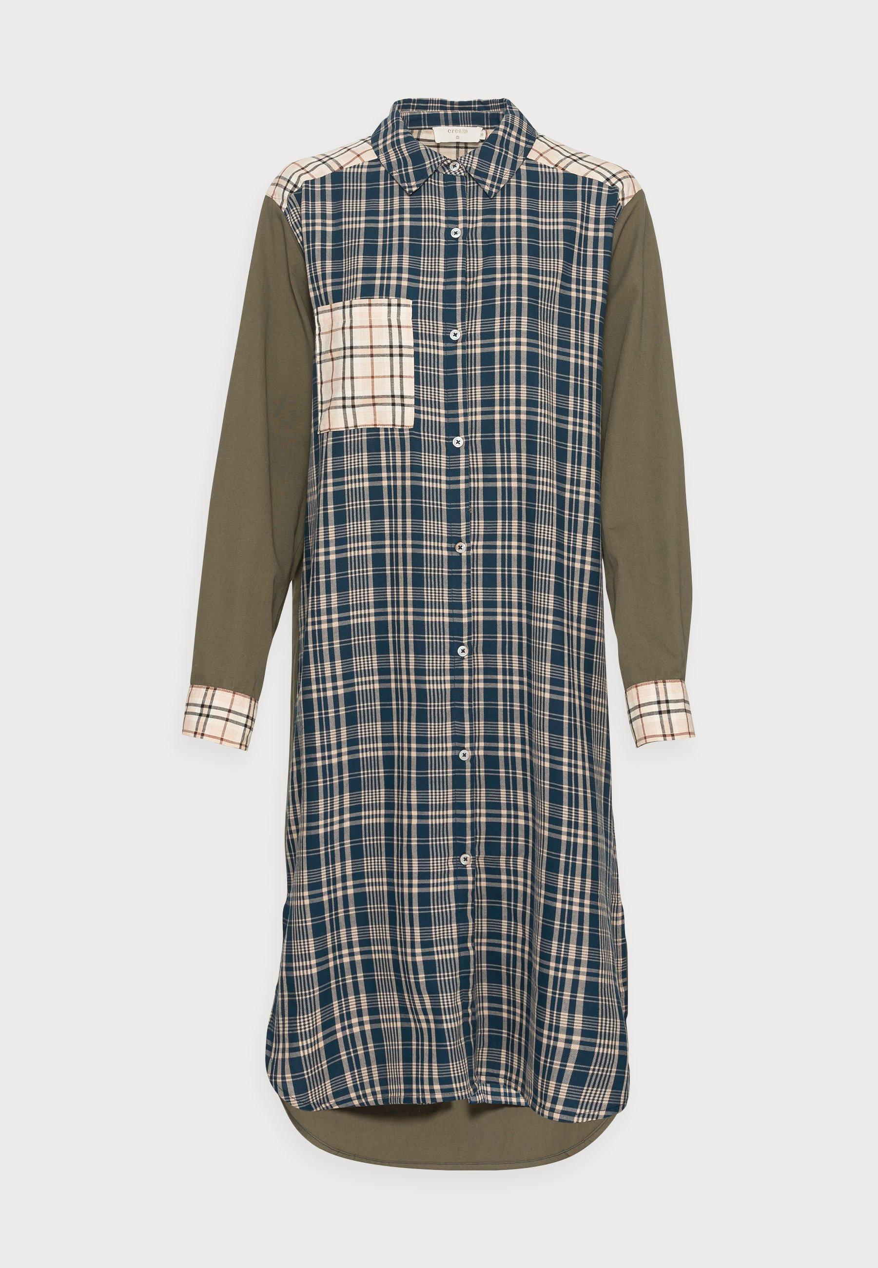 Mujer DALLAS CHECK SHIRTDRESS - Vestido camisero
