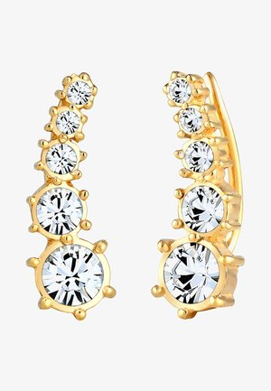 GLASS CRYSTAL - Earrings - gold-coloured
