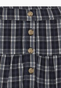 Abercrombie & Fitch - BUTTON THRU - A-line skirt - navy - 3
