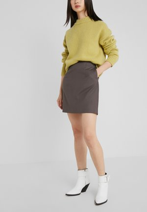 AILA SKIRT - Mini skirt - taupe
