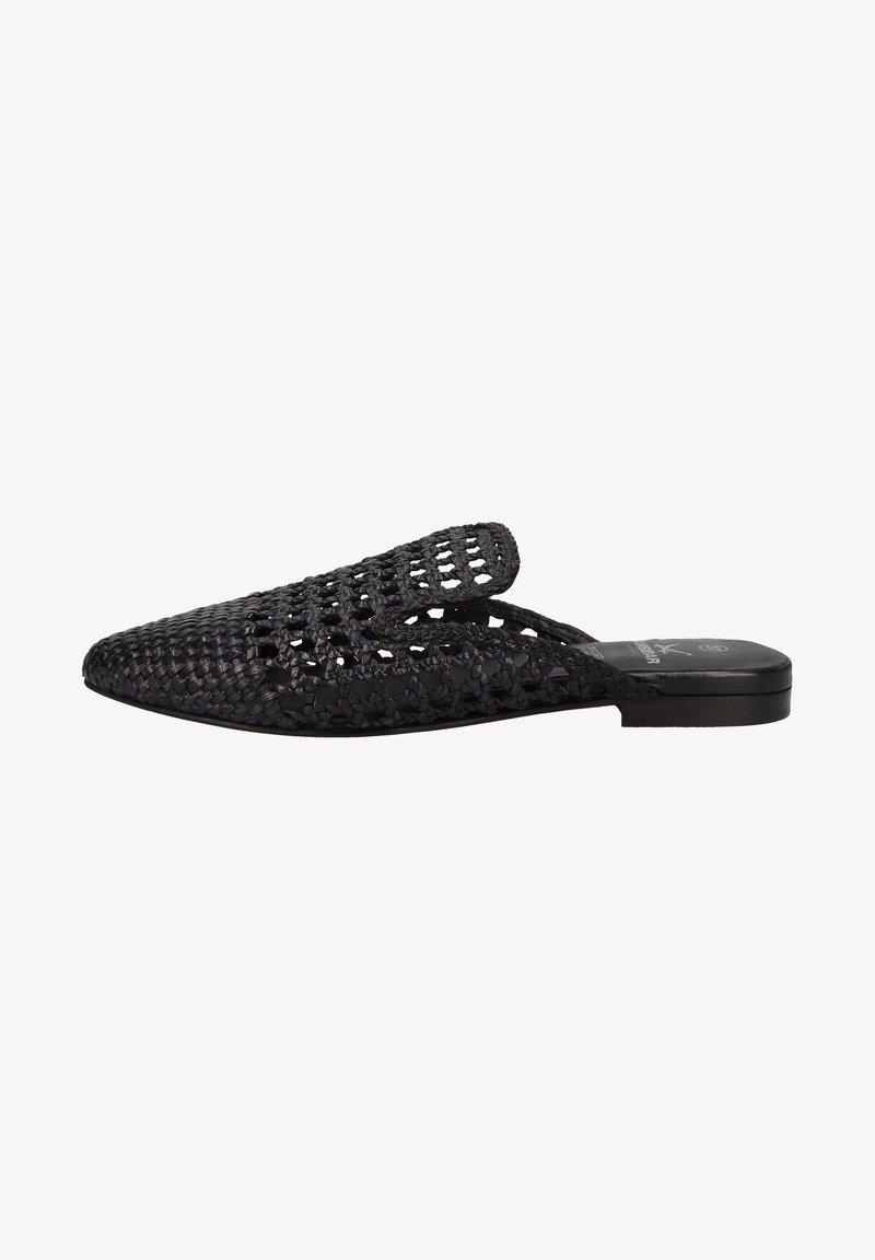 Sansibar Shoes - Muiltjes - schwarz