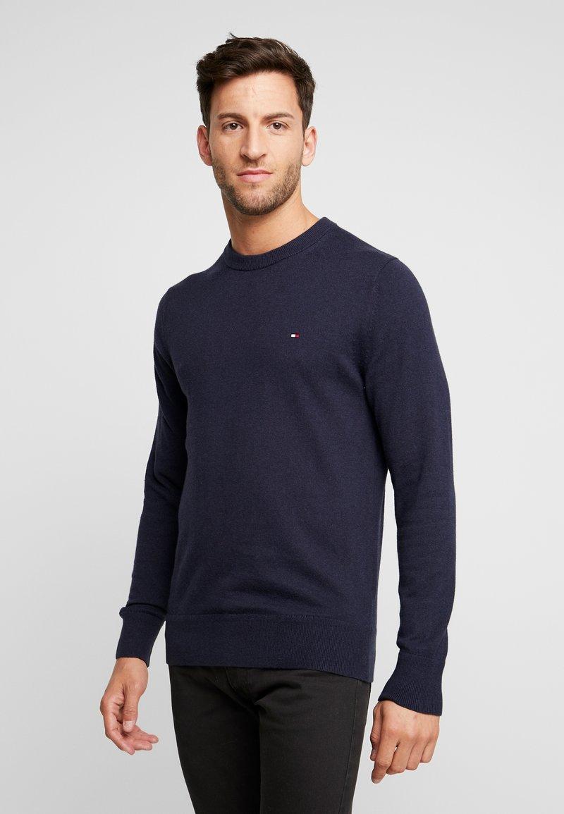 Tommy Hilfiger - PIMA CREW NECK - Stickad tröja - blue
