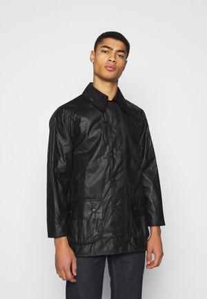 BEAUFORT JACKET - Krátký kabát - black