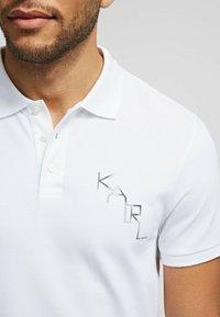 KARL LAGERFELD - Polo shirt - white - 4