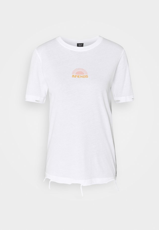 KIRBY - T-shirt con stampa - white