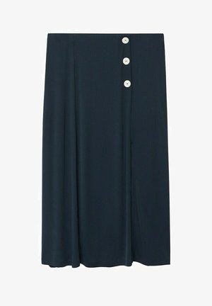 Áčková sukně - dunkles marineblau