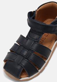 Bisgaard - BILLIE UNISEX - Sandals - navy - 4
