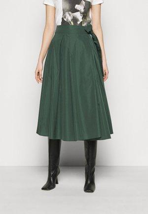 SACHA - Áčková sukně - dunkelgruen