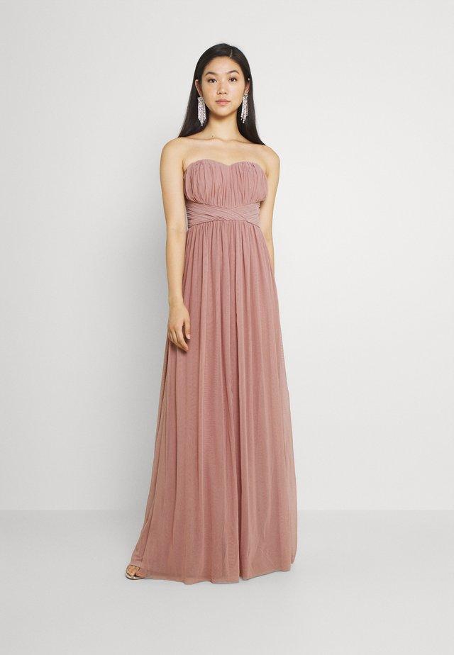 CONVERTIBLE GOWN - Suknia balowa - dusty pink