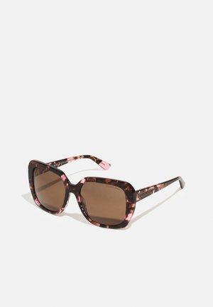 Sunglasses - pink tort