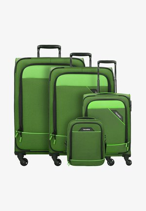 4 PACK - Luggage set - green