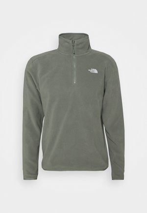 MENS GLACIER 1/4 ZIP - Fleece jumper - agave green