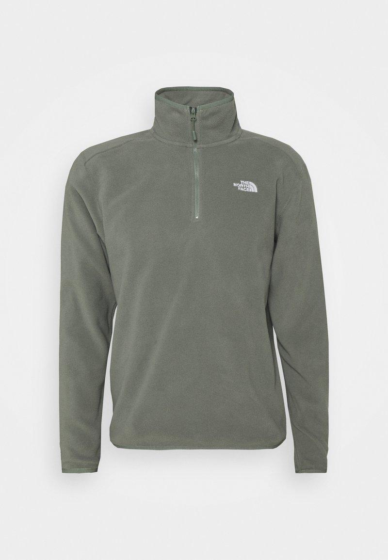 The North Face - MENS GLACIER 1/4 ZIP - Fleece jumper - agave green