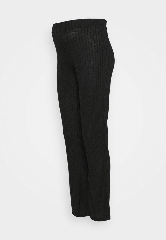 PCMSKYWEN FLARED PANT - Pantalon classique - black