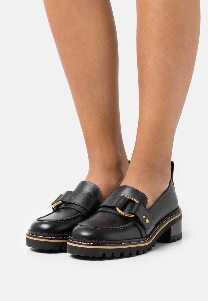 See by Chloé - ERINE - Nazouvací boty - black