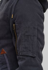 INDICODE JEANS - Winter jacket - dk grey - 6