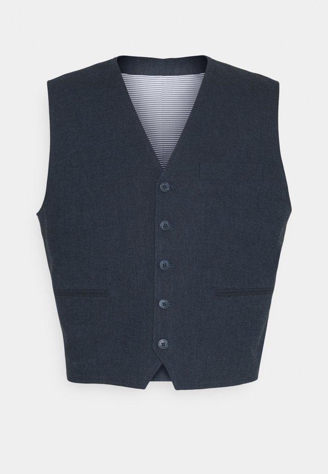 JPRRAY WAISTCOAT - Gilet - navy blazer