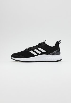 FLUIDSTREET CLOUDFOAM SPORTS SHOES - Træningssko - core black/footwear white