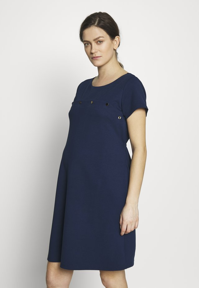 SINIKKA - Jersey dress - bleu