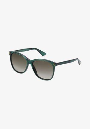 Sunglasses - gree/brown