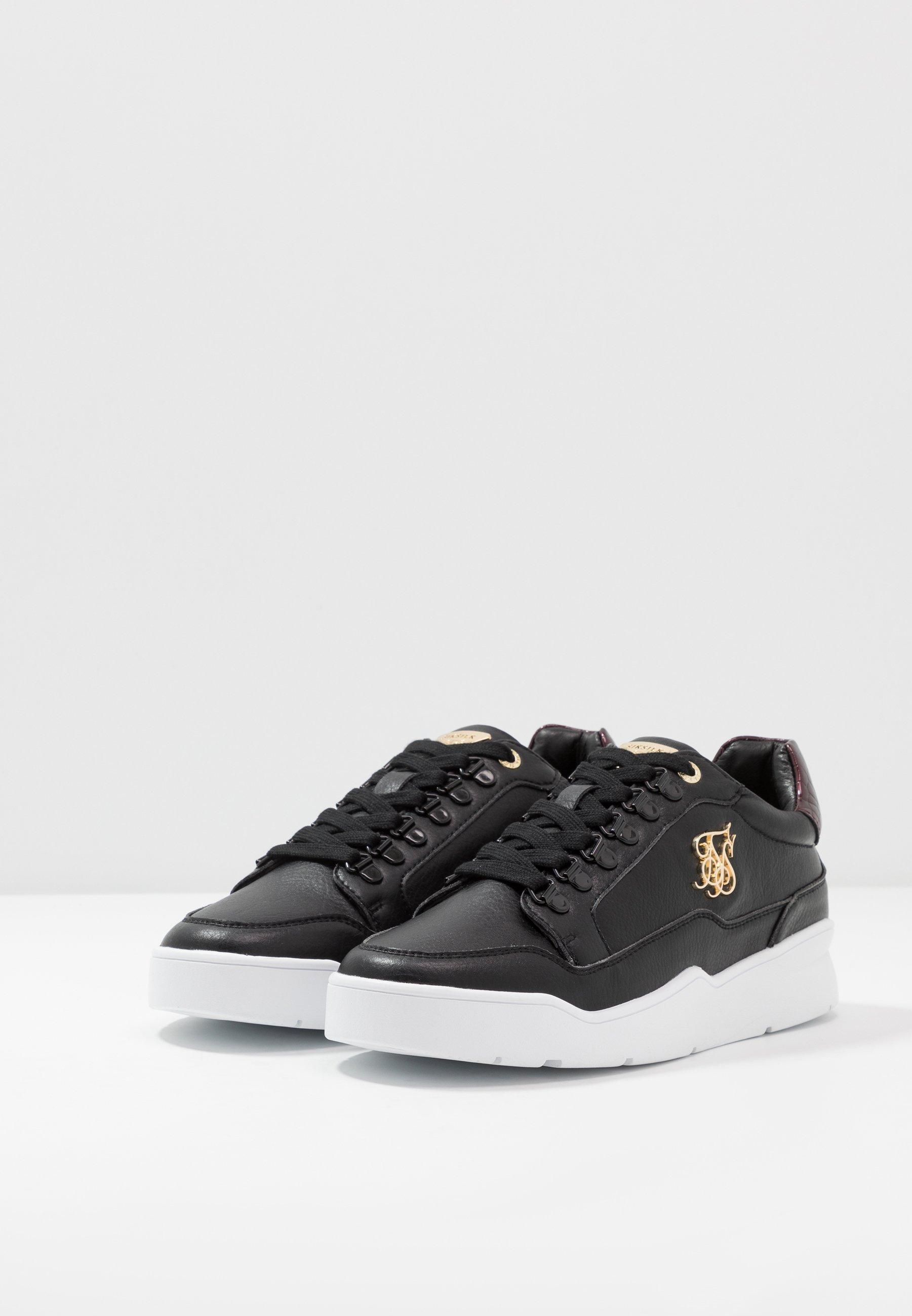 Prezzo di fabbrica Scarpe da uomo SIKSILK D-RING PURSUIT Sneakers basse black/burgundy