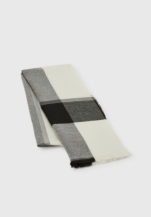 Scarf - black/grey/white