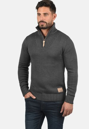 PETRO - Jumper - dark gray
