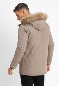 Brave Soul - CHEETAH - Winter jacket - stone - 2