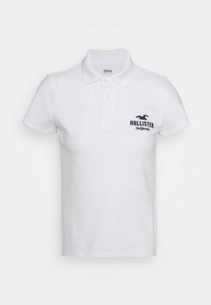 CORE LOGO - Polo shirt - white