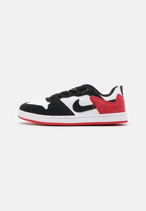ALLEYOOP UNISEX - Skate shoes - white/black/university red