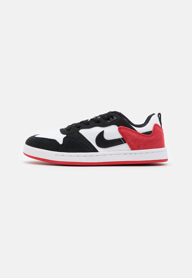 ALLEYOOP UNISEX - Zapatillas skate - white/black/university red
