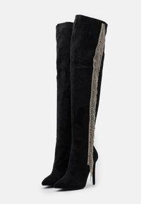 BEBO - LEOMIE - Kozačky na vysokém podpatku - black - 2
