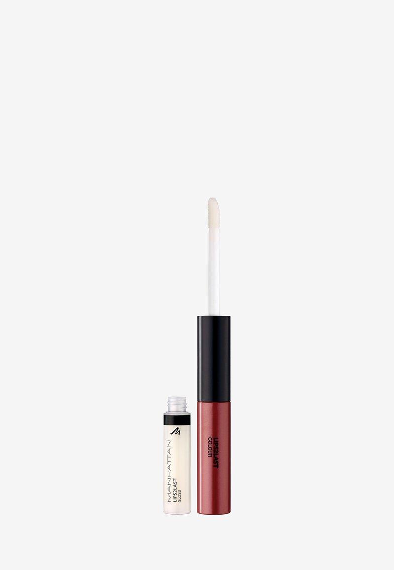 Manhattan Cosmetics - LIPS2LAST COLOUR&GLOSS - Lip gloss - 59n rosewood kiss