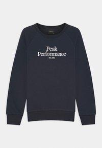 Peak Performance - ORIGINAL CREW UNISEX - Mikina - blue shadow - 0