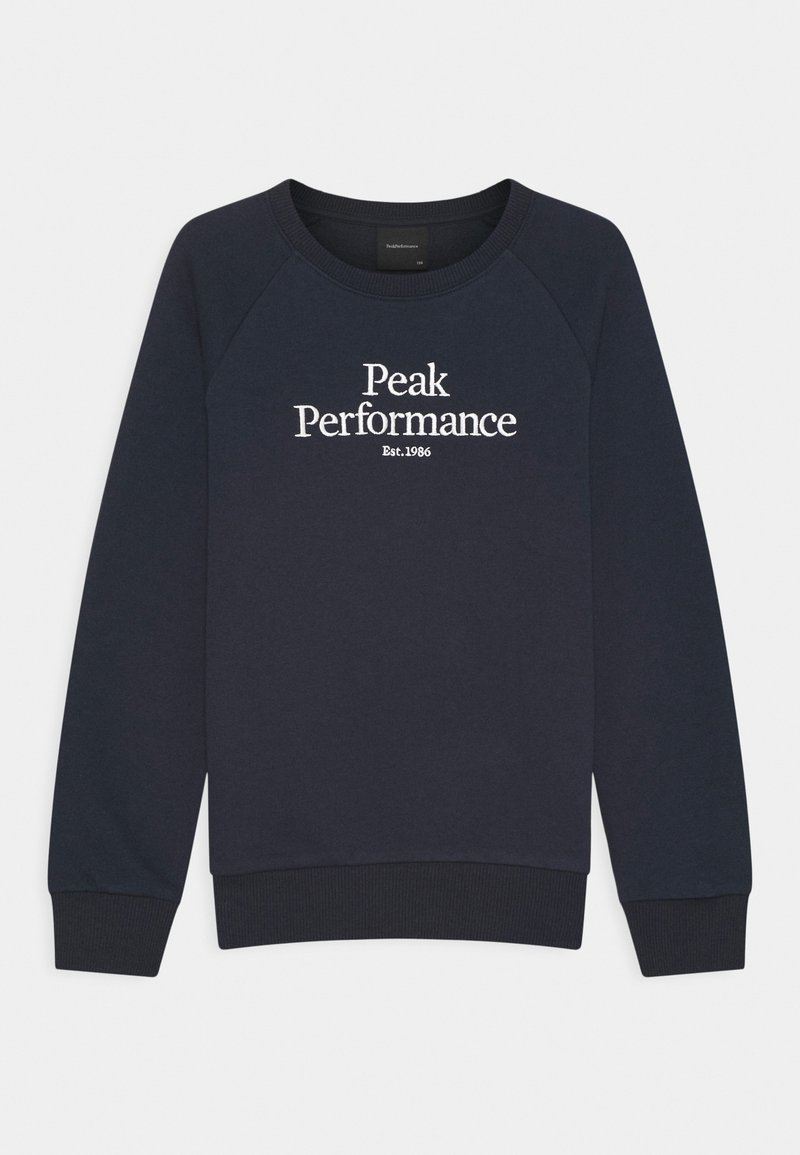 Peak Performance - ORIGINAL CREW UNISEX - Mikina - blue shadow