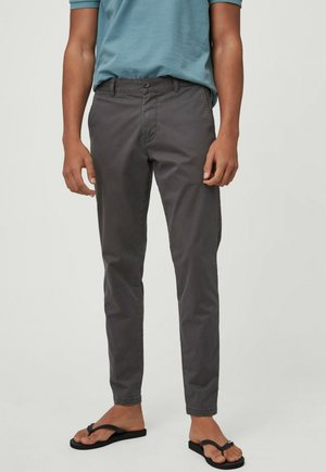 Chino kalhoty - military green