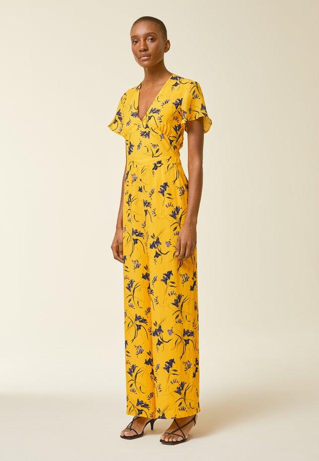 Jumpsuit - sun yellow