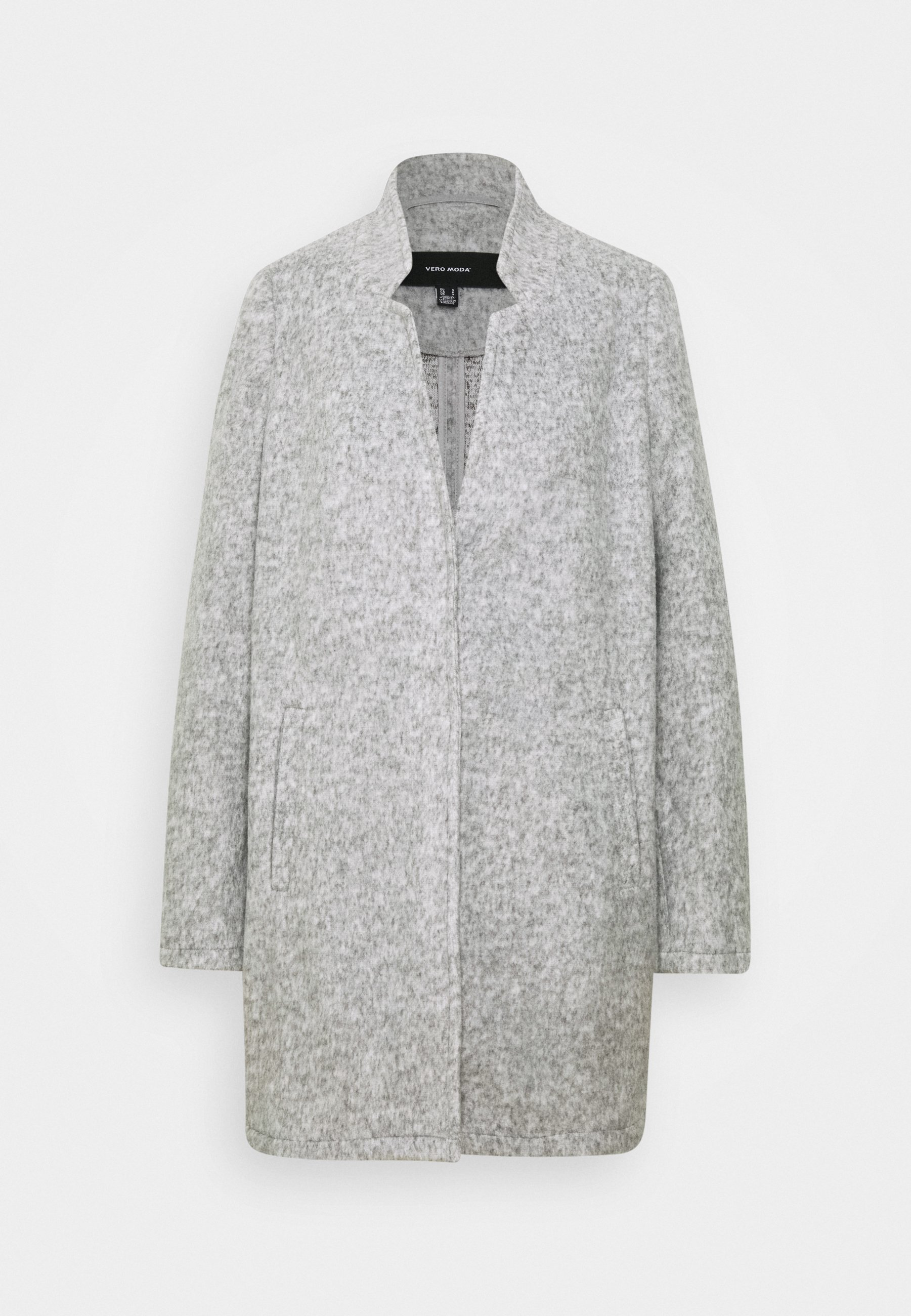 köp jackor kappor soft grey skinnjacka beige för dam på på