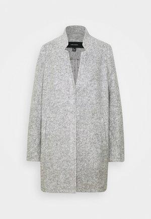 VMBRUSHEDKATRINE JACKET - Kort kåpe / frakk - light grey melange
