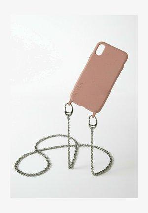 IPHONE 12 MINI - BIOLOGISCH ABBAUBAR - MISTER T. SILVER SAND - Phone case - silberfarben