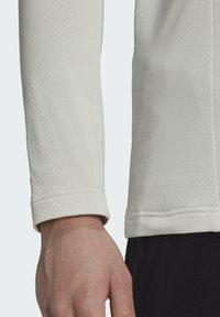 adidas Performance - Fleece jumper - grey - 4