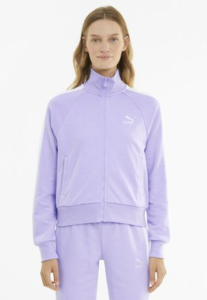 ICONIC T7 - Sweatjacke - light lavender