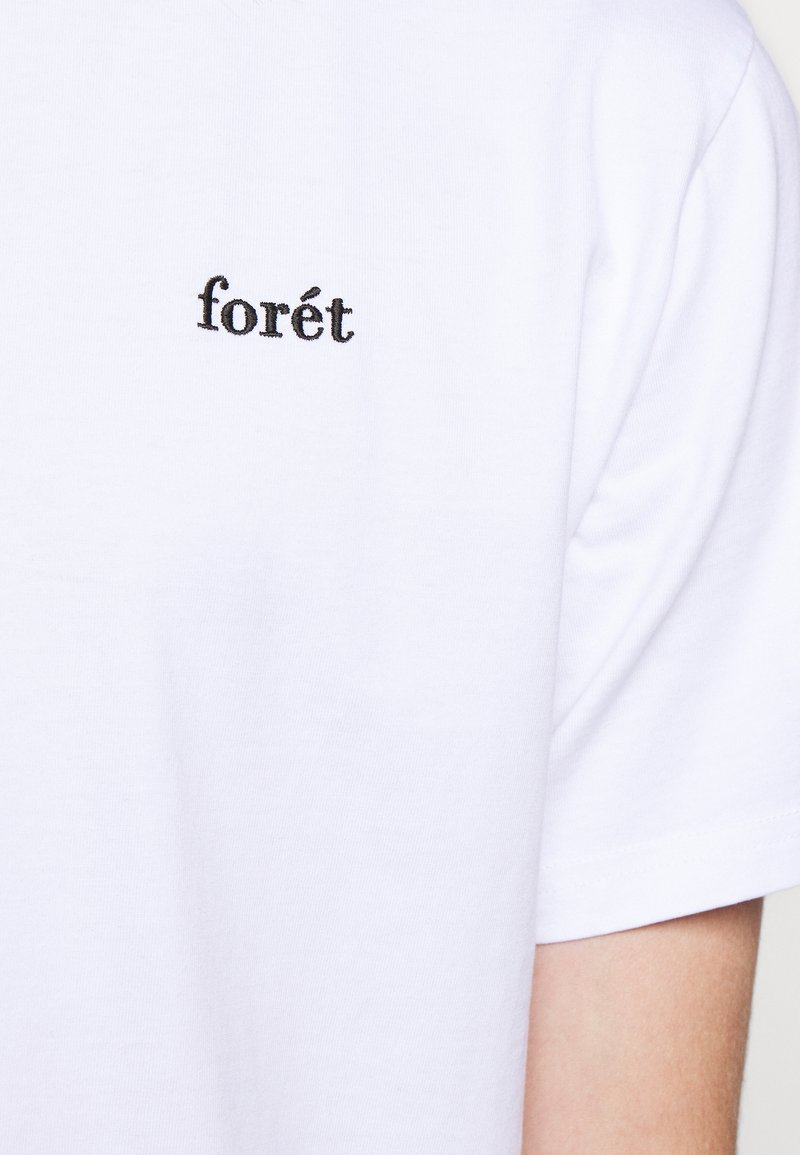 forét AIR - T-Shirt basic - white/rot ljElbU