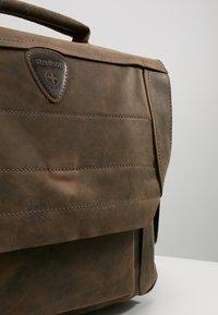 Strellson - HUNTER BRIEFBAG - Laptop bag - dark brown - 6