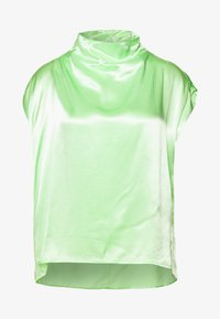 Weekday - RAYNE SHORT SLEEVED BLOUSE - Bluse - bright green - 0